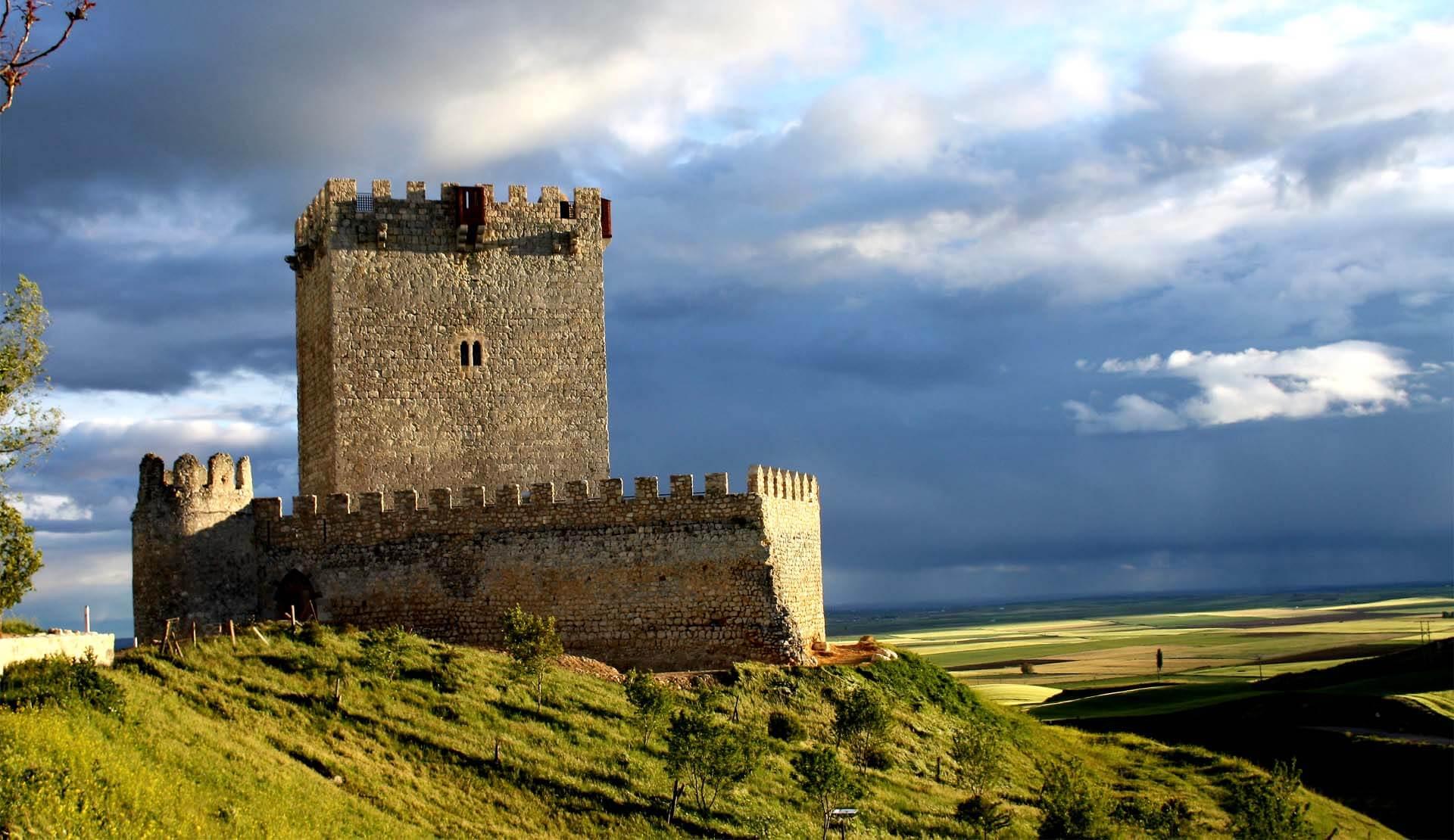 Castillo de Tiedra-Valladolid-